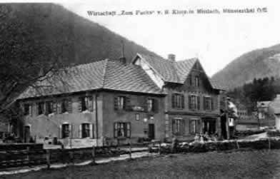 Mittlach Valneige en 1915