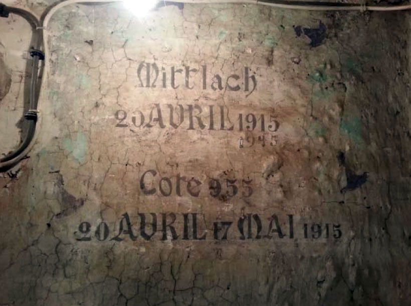 ambulance alpine inscription 1915