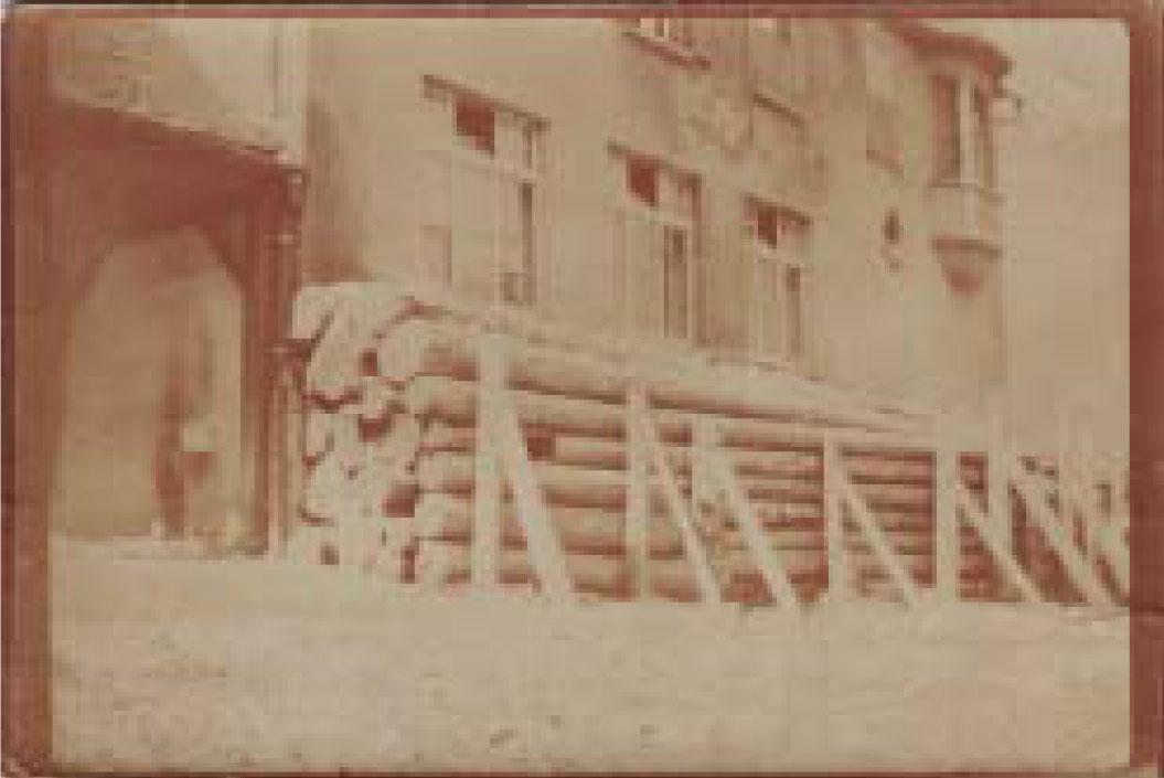 préau fortifier photo 1915