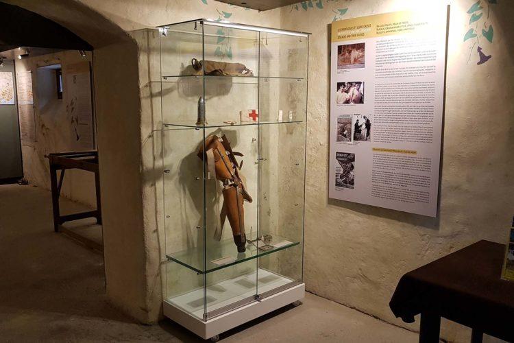 Vestige du musée de l'ambulance alpine